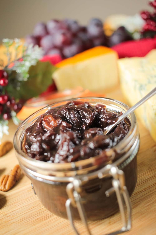 Christmassy Red Onion and Sultana Chutney Recipe | HeyFood — heyfoodapp.com