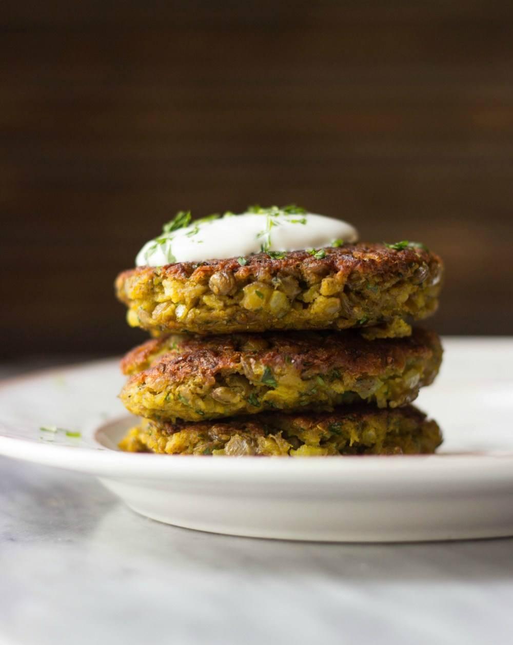 Mini Curried Lentil Cakes Recipe | HeyFood — heyfoodapp.com