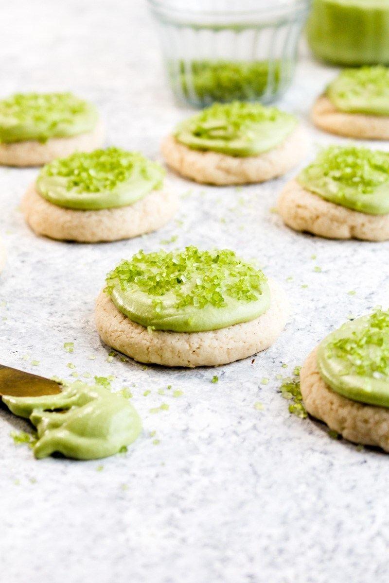 Vegan Gluten Free Soft Frosted Sugar Cookies Recipe | HeyFood — heyfoodapp.com