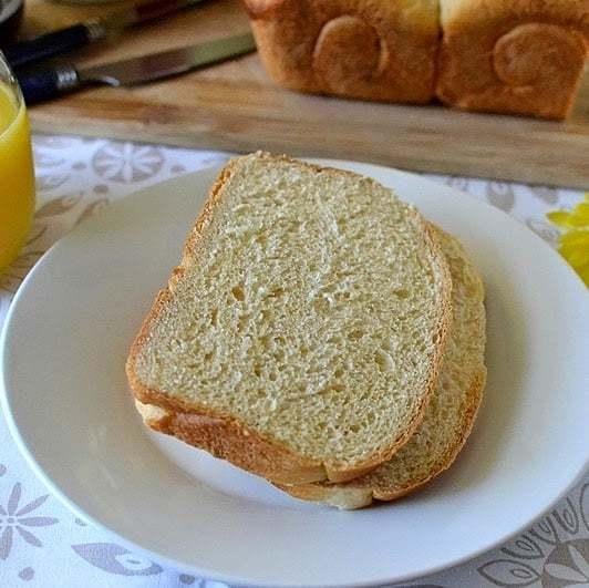 Hokkaido Milk Bread with Tangzhong Starter Recipe | HeyFood — heyfoodapp.com