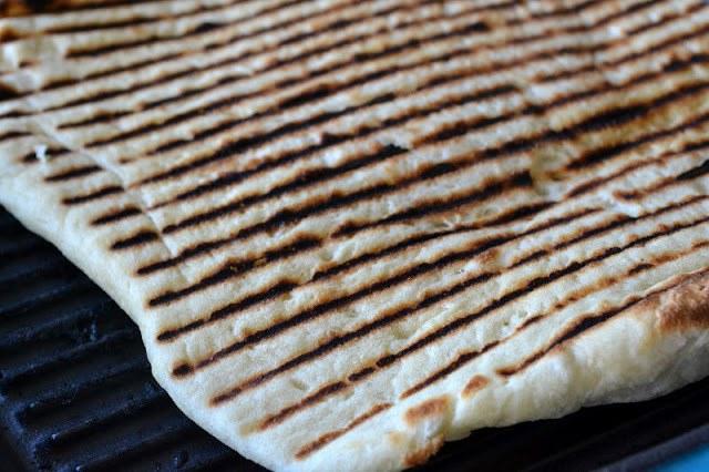 Hummus and Laffa Bread Recipe   HeyFood — heyfoodapp.com