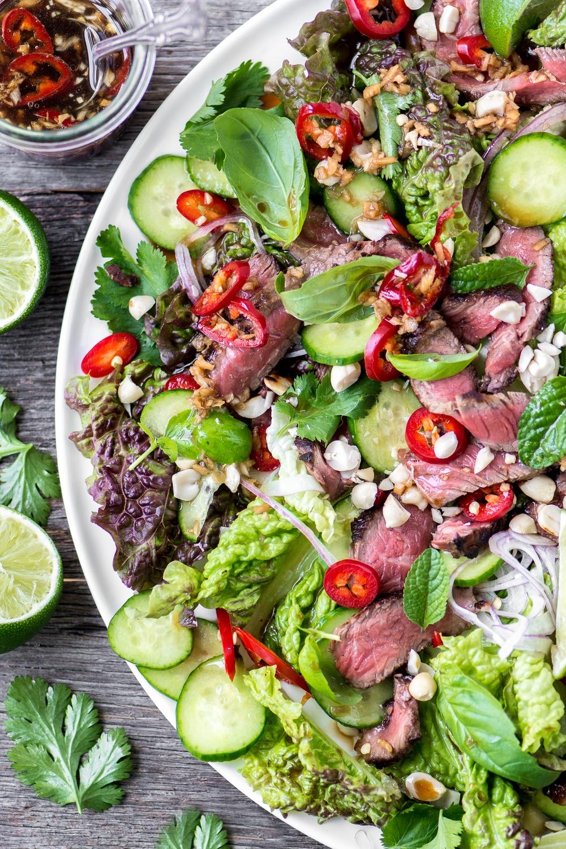 Thai Beef Salad Recipe | HeyFood — heyfoodapp.com