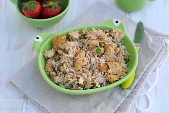 Tofu Fried Rice Recipe   HeyFood — heyfoodapp.com