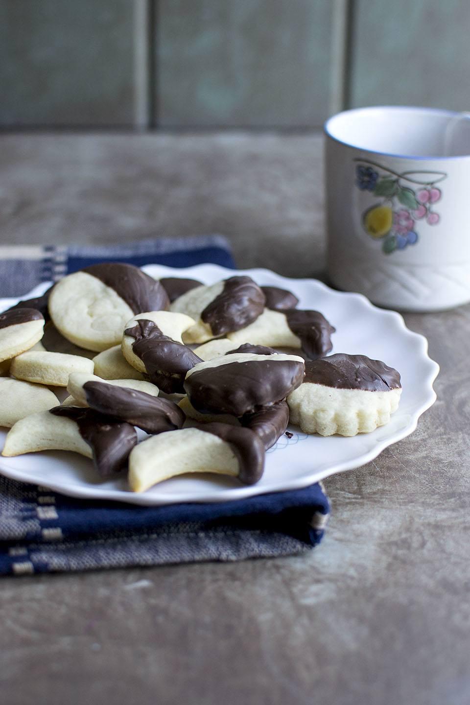 Crescent Cookies (Holiday Edible Gift Recipe) Recipe | HeyFood — heyfoodapp.com