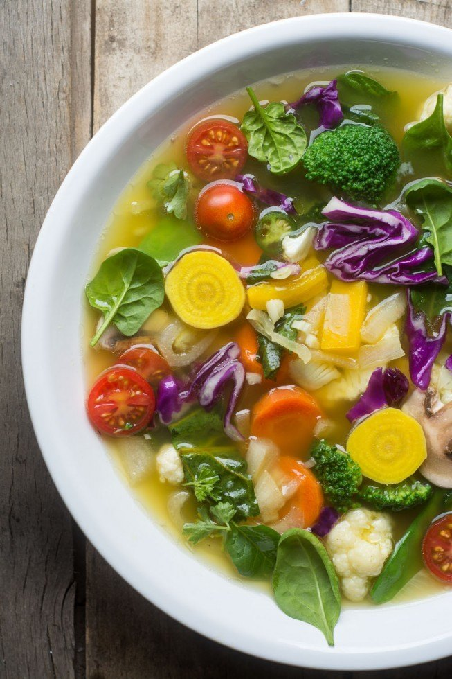 Slimming Detox Soup Recipe | HeyFood — heyfoodapp.com