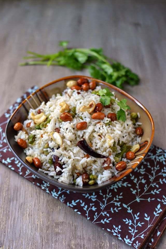 Coconut Rice with Fresh Pigeon Peas Recipe | HeyFood — heyfoodapp.com