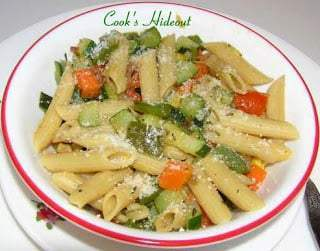 Mixed Vegetable Pasta Recipe | HeyFood — heyfoodapp.com