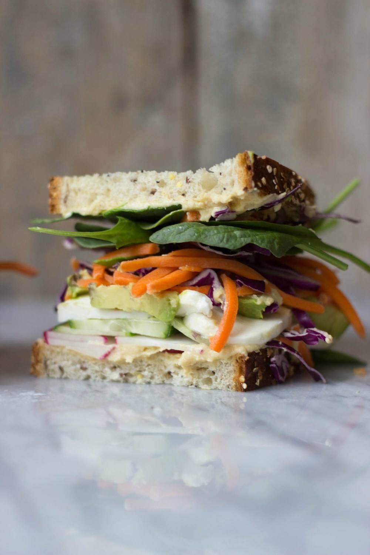 The Ultimate Veggie Sandwich Recipe | HeyFood — heyfoodapp.com