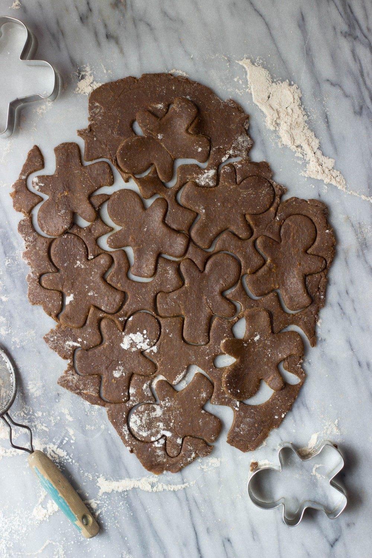 Gingerbread Cut-Out Cookies Recipe   HeyFood — heyfoodapp.com