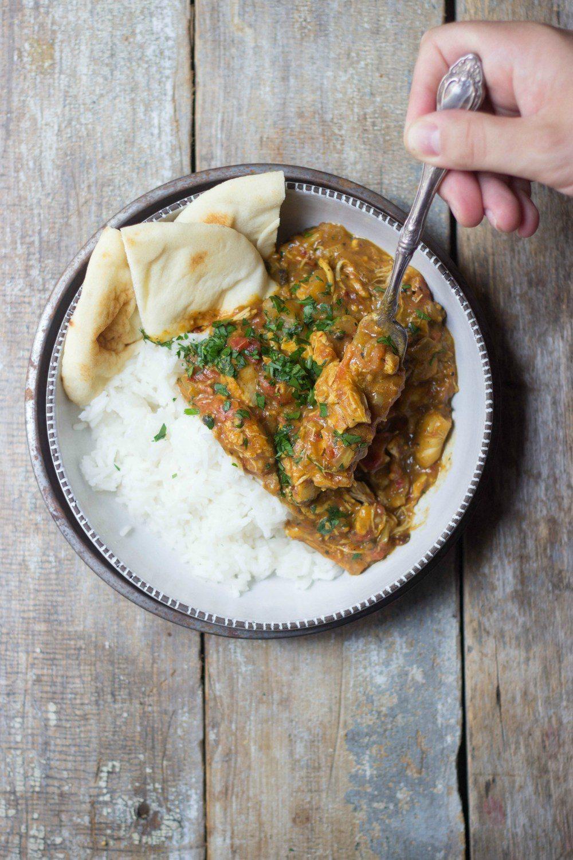 Slow Cooker Spicy Vindaloo Chicken Recipe   HeyFood — heyfoodapp.com
