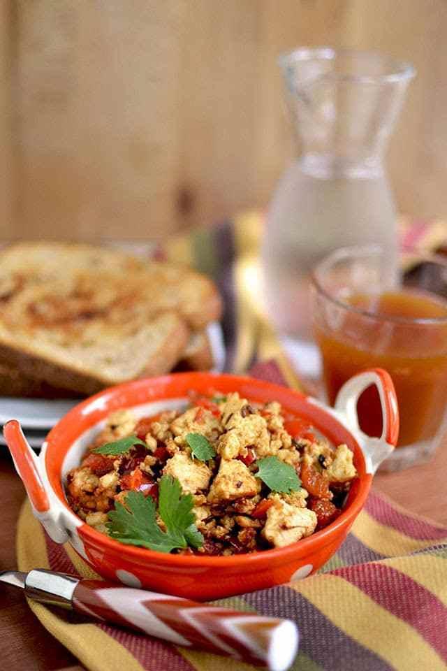 Paneer Bhurji (Scrambled Paneer/ Indian Cottage Cheese) Recipe | HeyFood — heyfoodapp.com