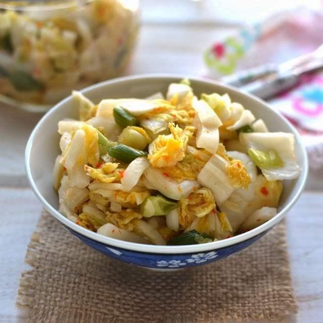 Kimchi with Ginger & Chiles Recipe | HeyFood — heyfoodapp.com