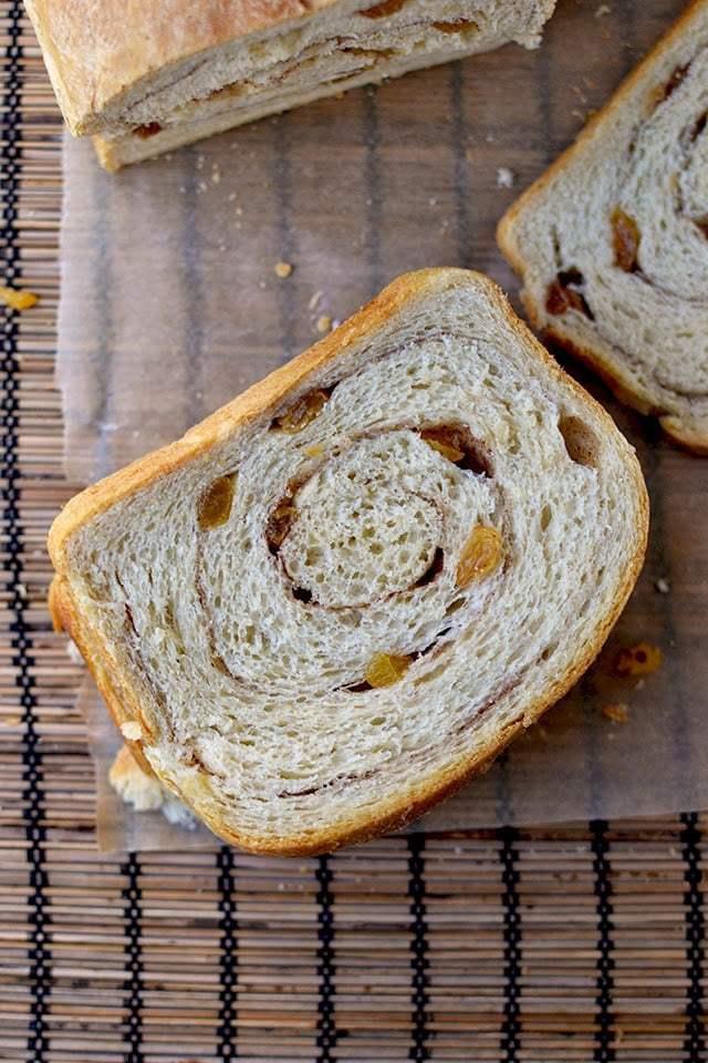 Sourdough Cinnamon Raisin Bread Recipe | HeyFood — heyfoodapp.com