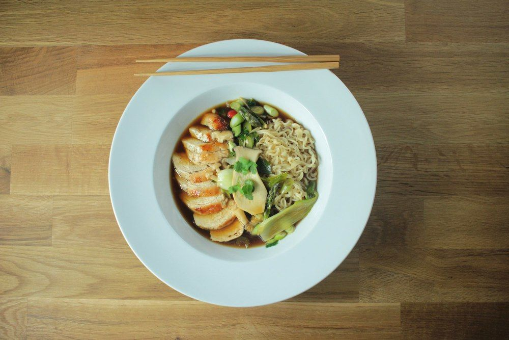 Chicken and Wild Mushroom Ramen Recipe | HeyFood — heyfoodapp.com