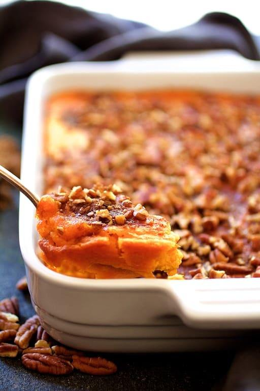 Jeannie's Sweet Potato Souffle Recipe   HeyFood — heyfoodapp.com