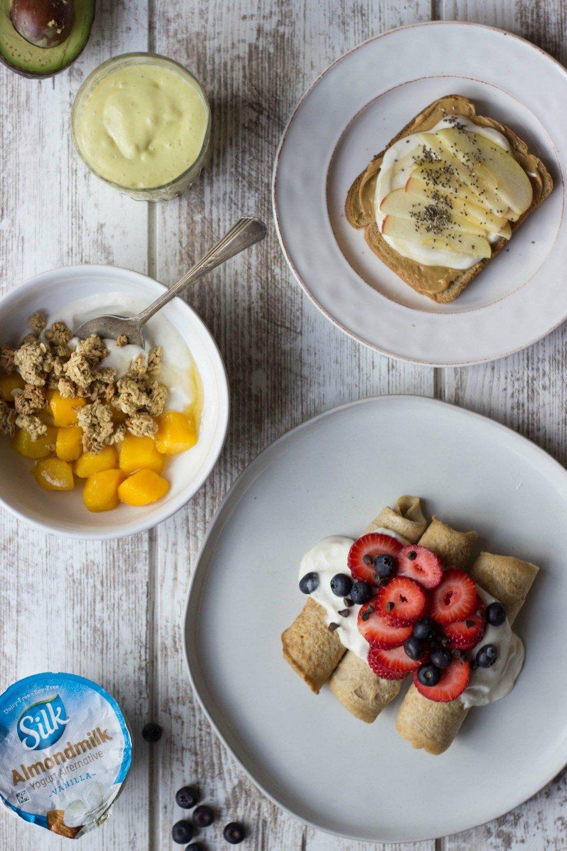 Yogurt & Berry Crepe Enchiladas Recipe   HeyFood — heyfoodapp.com