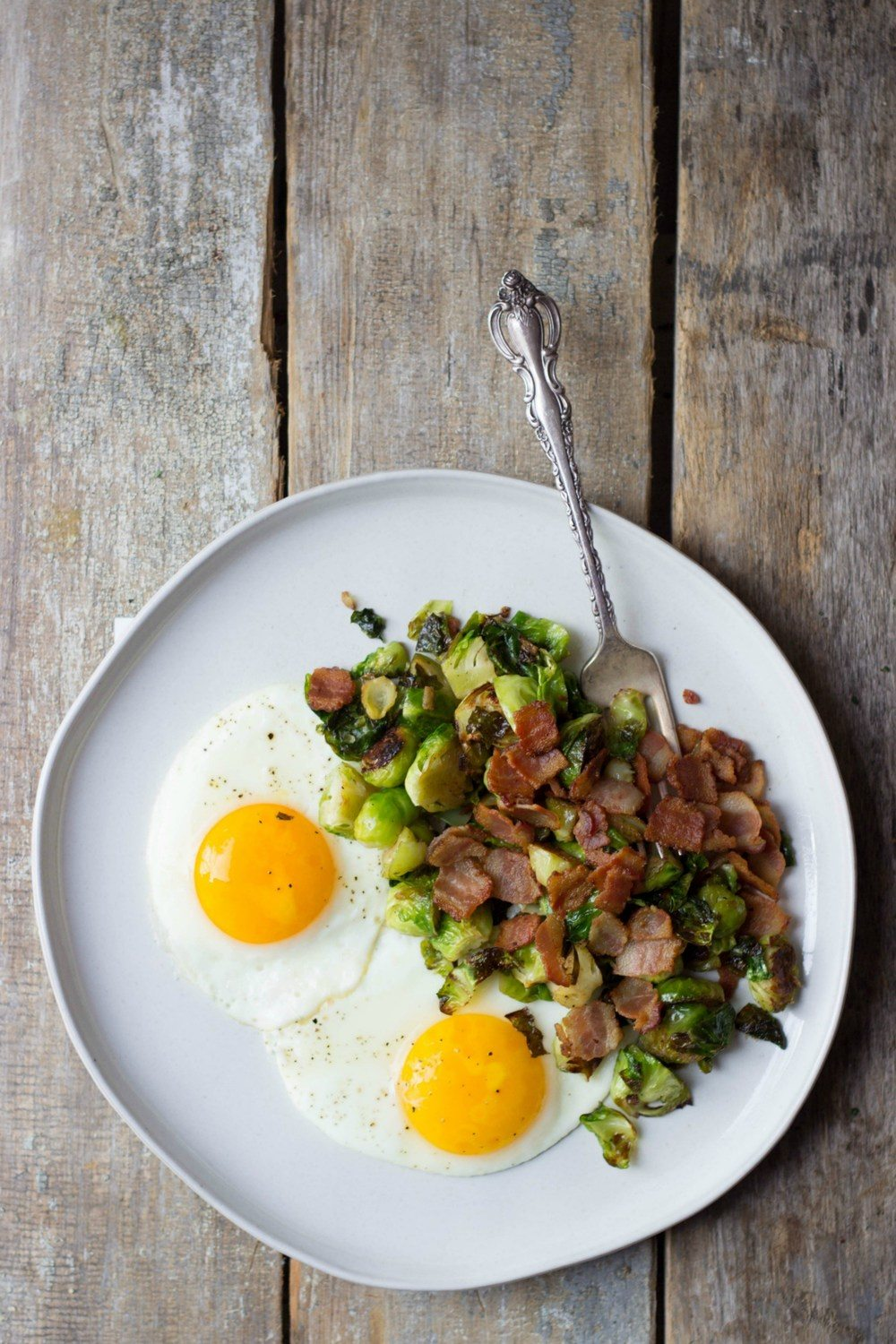 Breakfast Brussels Sprouts Recipe | HeyFood — heyfoodapp.com