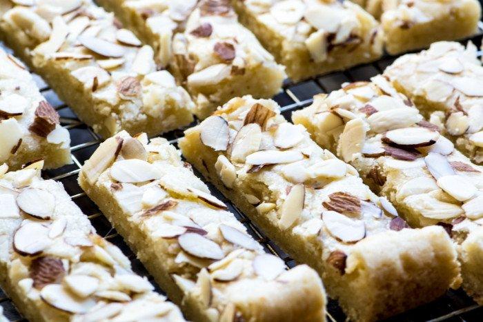 Scandinavian Almond Bars Recipe | HeyFood — heyfoodapp.com
