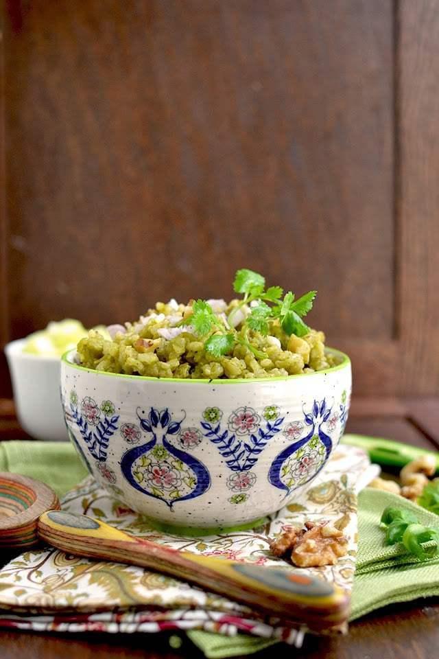 Healthy Cilantro Rice (with Brown rice) Recipe | HeyFood — heyfoodapp.com