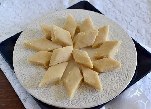 Kaju Badam Katli (Cashew Almond Fudge) Recipe   HeyFood — heyfoodapp.com