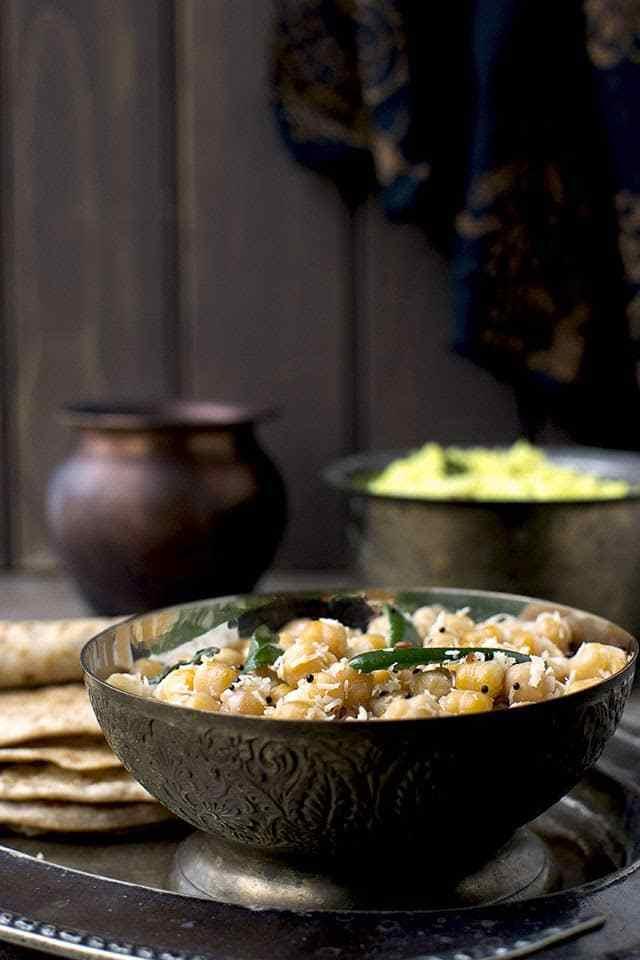 Chickpea Sundal Recipe | HeyFood — heyfoodapp.com