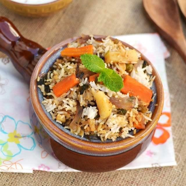 Veg Dum Biryani Recipe | HeyFood — heyfoodapp.com