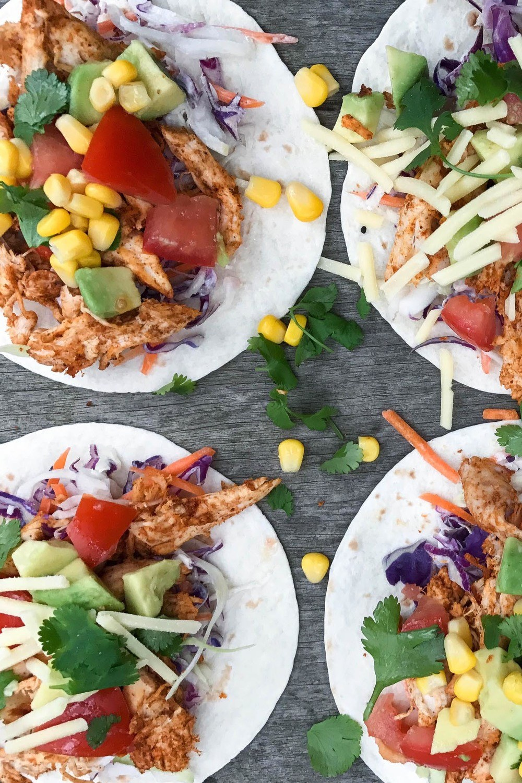 Tasty Chicken Tacos Recipe | HeyFood — heyfoodapp.com