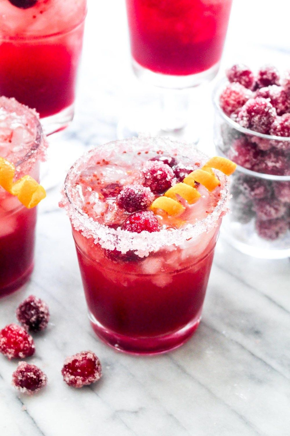 Cranberry Orange Gin Fizz Recipe | HeyFood — heyfoodapp.com