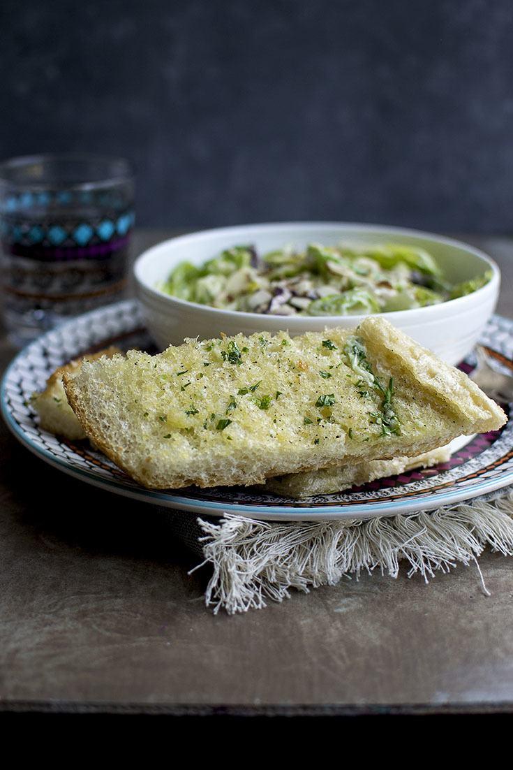 Vegan Garlic Bread Recipe   HeyFood — heyfoodapp.com