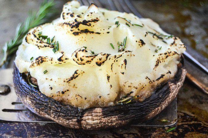Portobello Shepherd's Pies Recipe | HeyFood — heyfoodapp.com