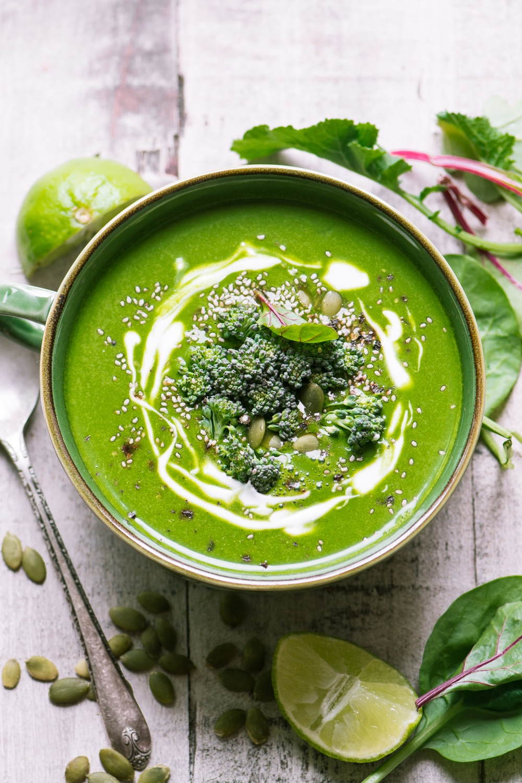 Green Goddess Immune Boosting Soup Recipe | HeyFood — heyfoodapp.com