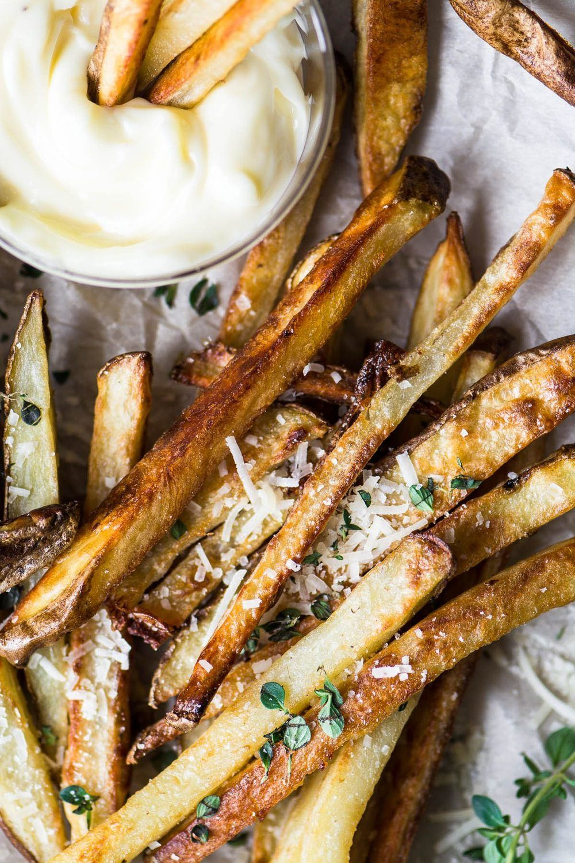 Baked Truffle Fries Recipe | HeyFood — heyfoodapp.com