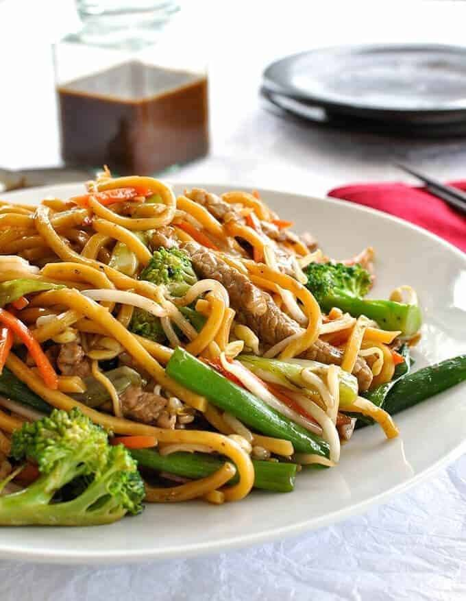 Chinese Stir Fried Noodles Guide Recipe | HeyFood — heyfoodapp.com