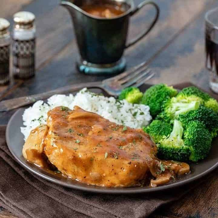 Shortcut Pressure Cooker (Instant Pot) Boneless Pork Chops Recipe | HeyFood — heyfoodapp.com