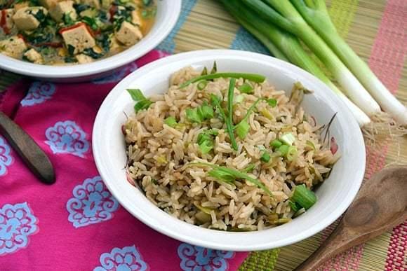 Scallion Fried Rice Recipe | HeyFood — heyfoodapp.com