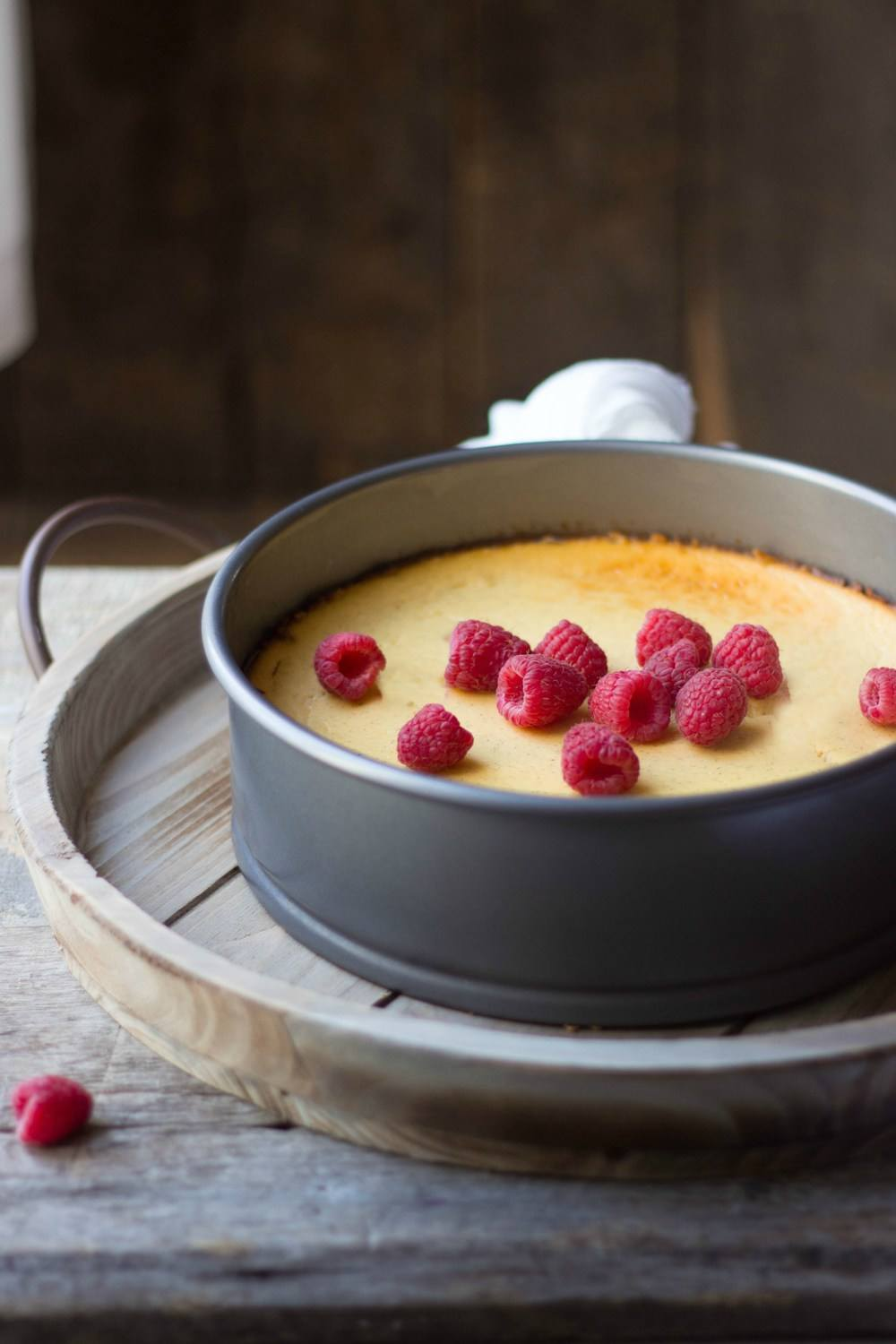 Vanilla Bean Ricotta Cheesecake Recipe | HeyFood — heyfoodapp.com