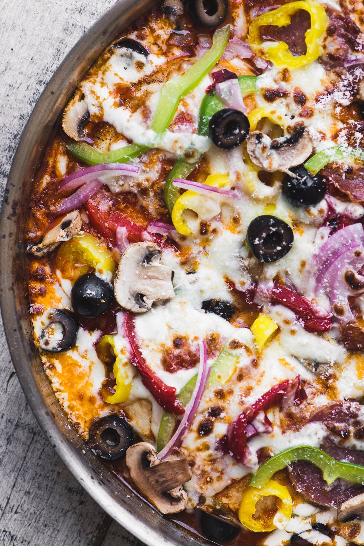 Pizza Supreme Chicken Recipe | HeyFood — heyfoodapp.com