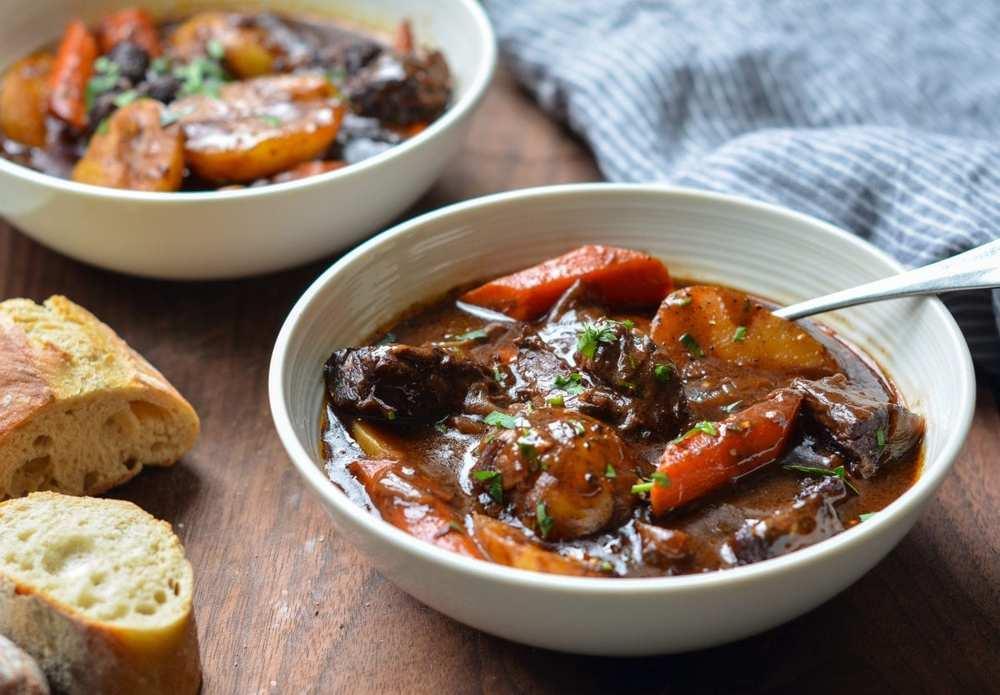 Beef Stew with Carrots & Potatoes Recipe | HeyFood — heyfoodapp.com