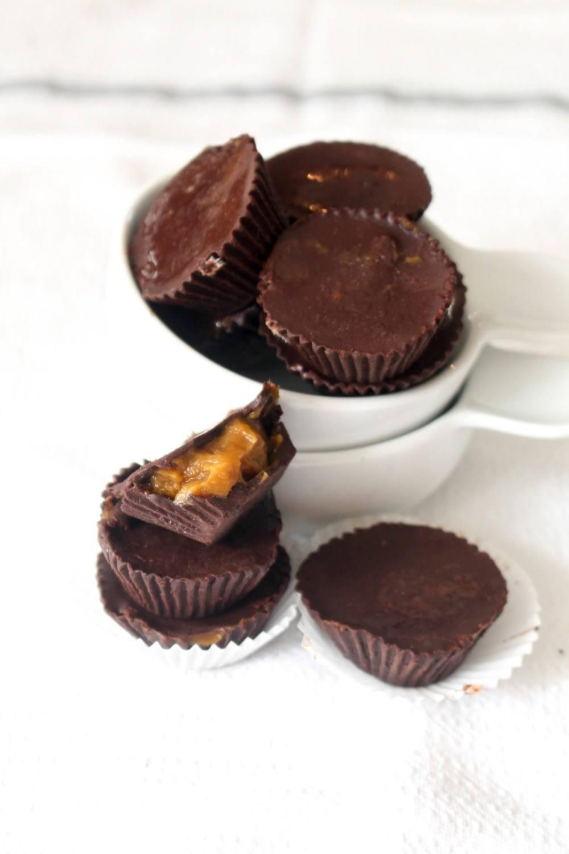 Pumpkin Caramel Cups Recipe | HeyFood — heyfoodapp.com