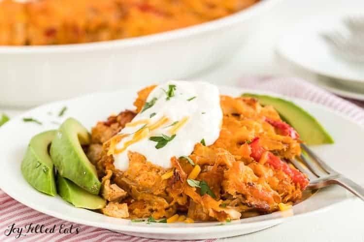 Easy Chicken Fajita Casserole Recipe | HeyFood — heyfoodapp.com