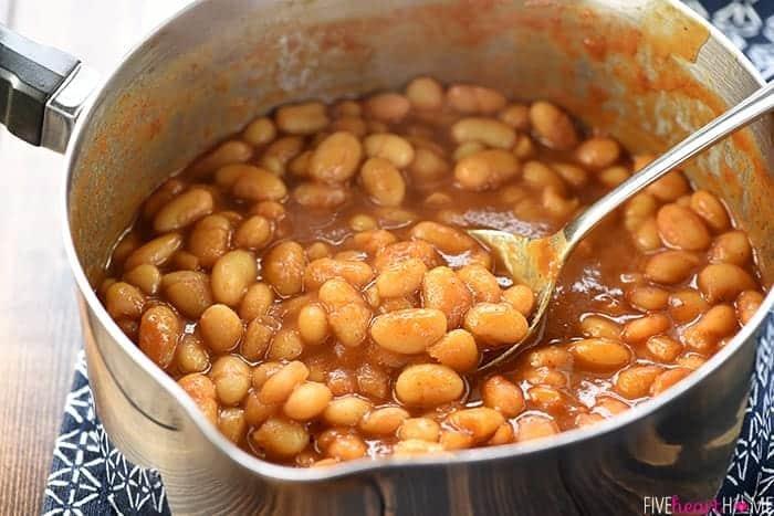 Quick Stovetop Baked Beans Recipe | HeyFood — heyfoodapp.com