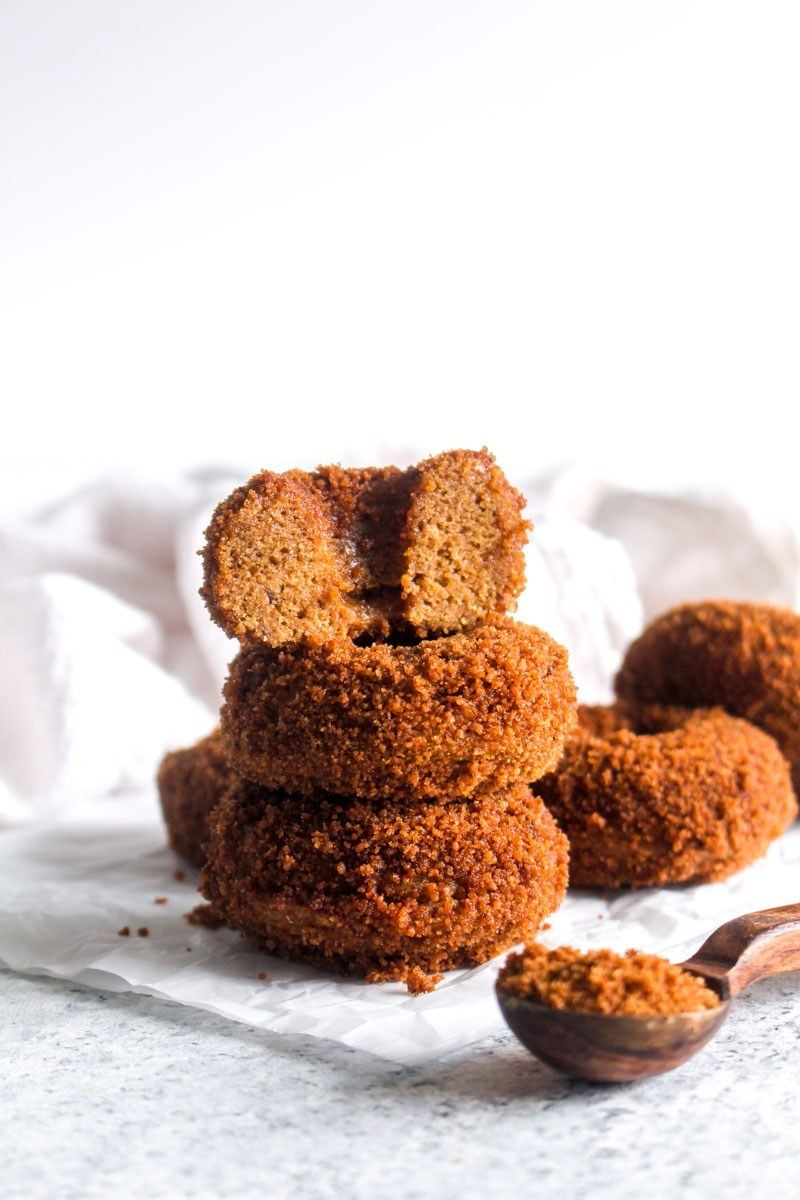 Pumpkin Spice Churro Donuts Recipe | HeyFood — heyfoodapp.com
