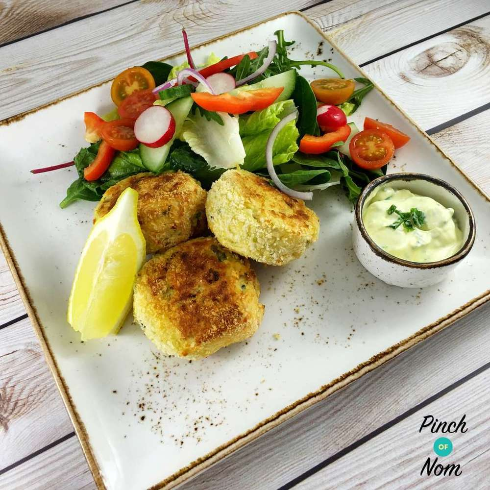 Smoked Haddock And Spring Onion Fishcakes | Slimming & Weight Watchers Friendly Recipe | HeyFood — heyfoodapp.com