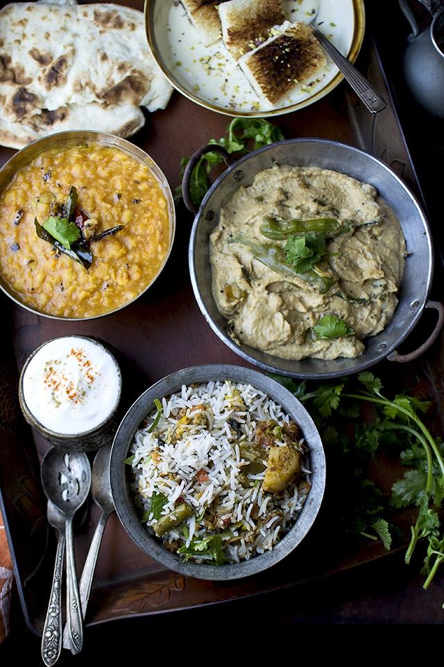 Hyderabadi Vegetable Biryani Recipe | HeyFood — heyfoodapp.com