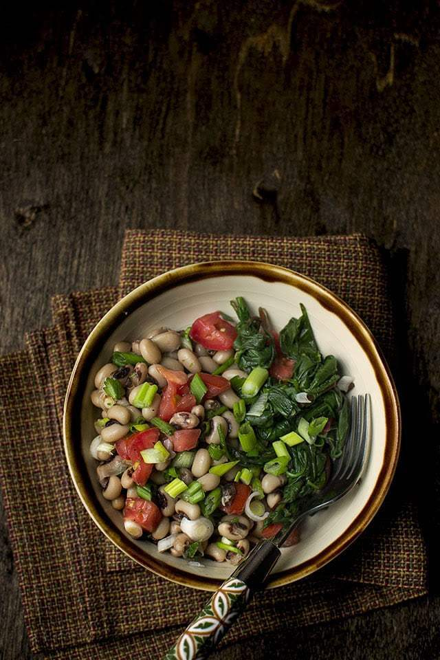 New Year's Black eyed Peas & Greens Recipe | HeyFood — heyfoodapp.com