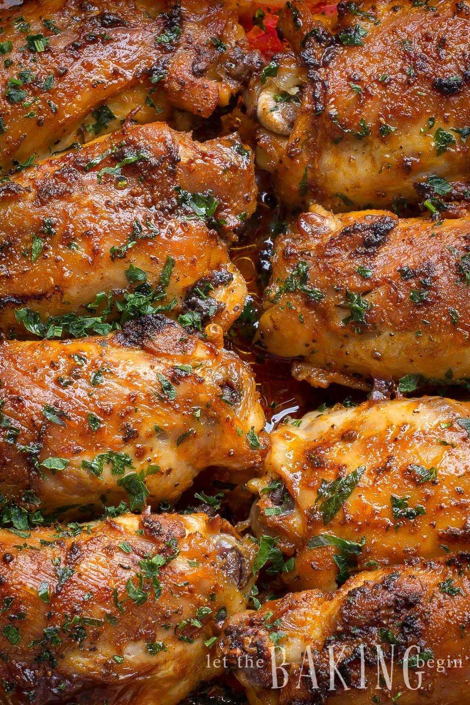 Paprika Baked Chicken Thighs Recipe   HeyFood — heyfoodapp.com