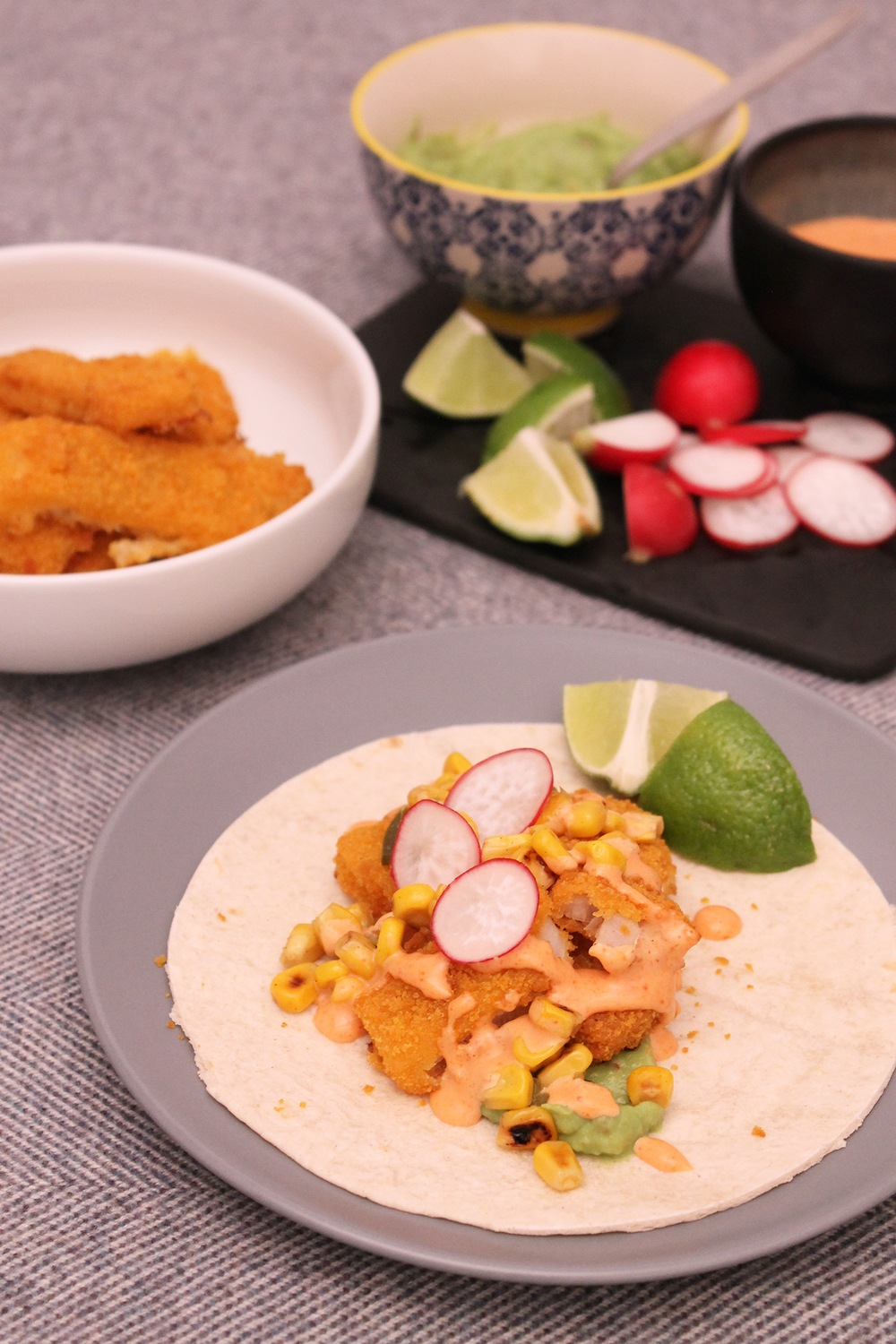 Lazy Fish Tacos  Recipe | HeyFood — heyfoodapp.com
