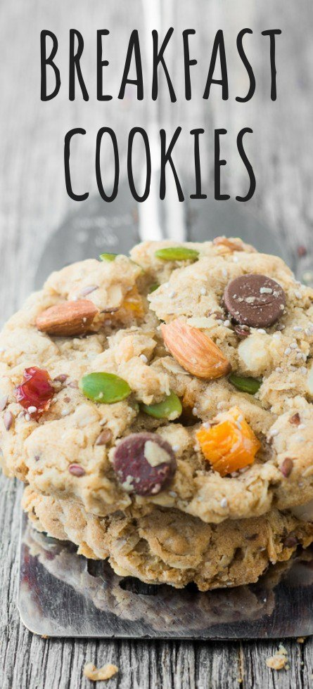 Back to School Breakfast Cookies Recipe | HeyFood — heyfoodapp.com