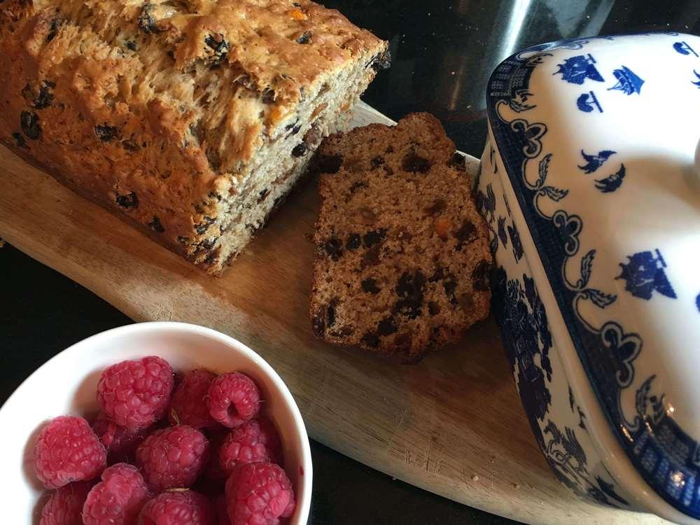 Almost Fat Free Tea Loaf Recipe | HeyFood — heyfoodapp.com
