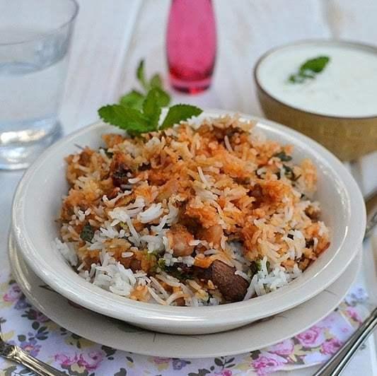 Dal Biryani Recipe | HeyFood — heyfoodapp.com